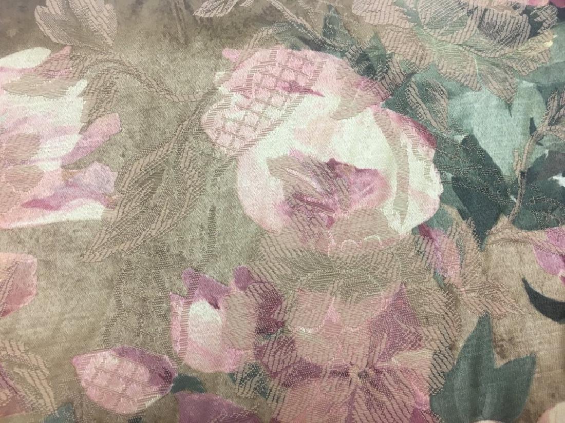 Jacard Floral Damask Print Fabric - 4