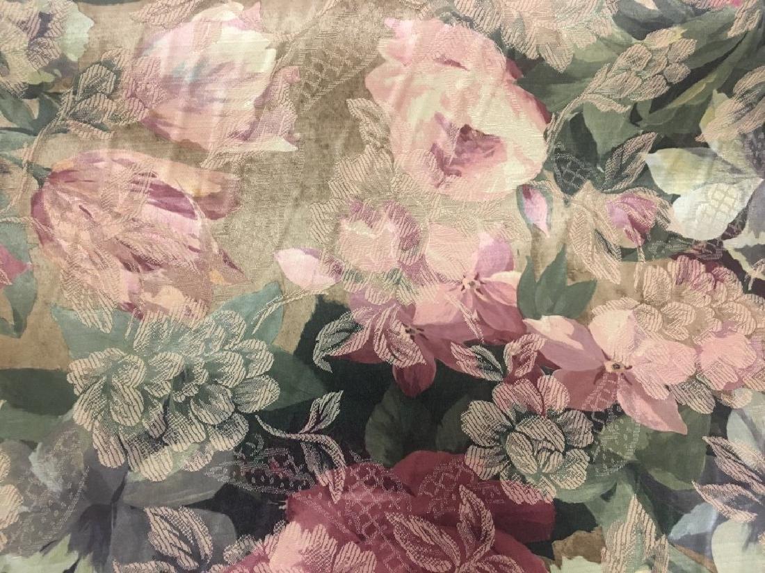 Jacard Floral Damask Print Fabric - 5