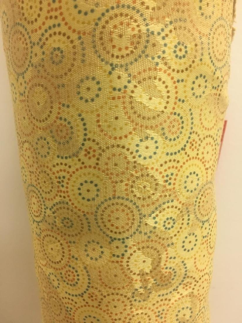 Poly Cotton Damask Jacard Print Fabric - 2