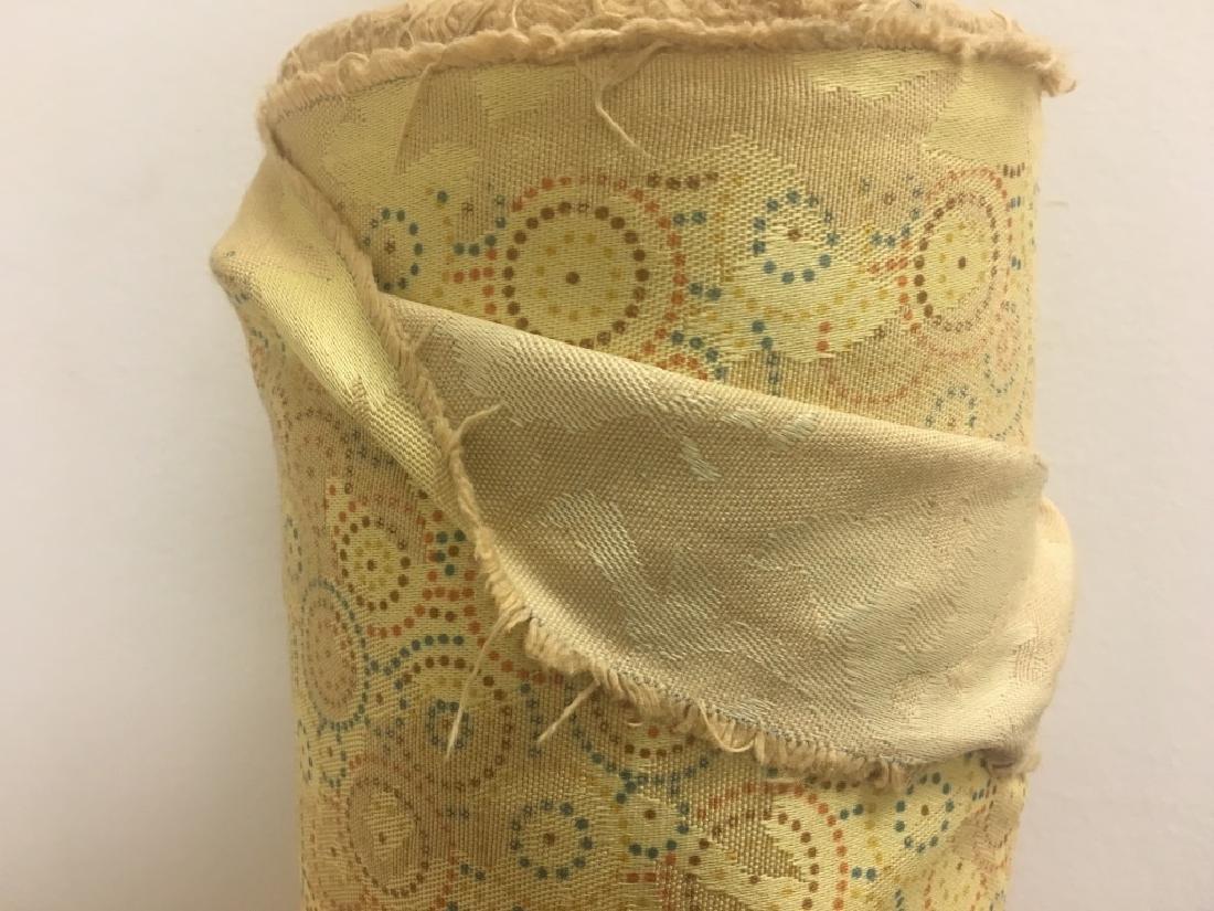 Poly Cotton Damask Jacard Print Fabric - 3