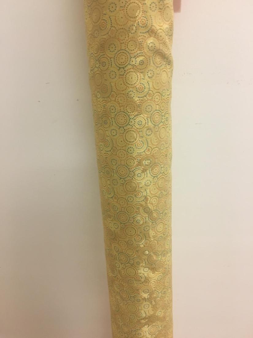 Poly Cotton Damask Jacard Print Fabric - 4