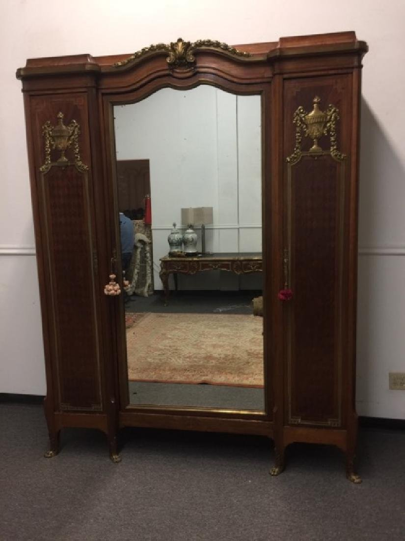 Late 19thc Early 20thc French Armoire