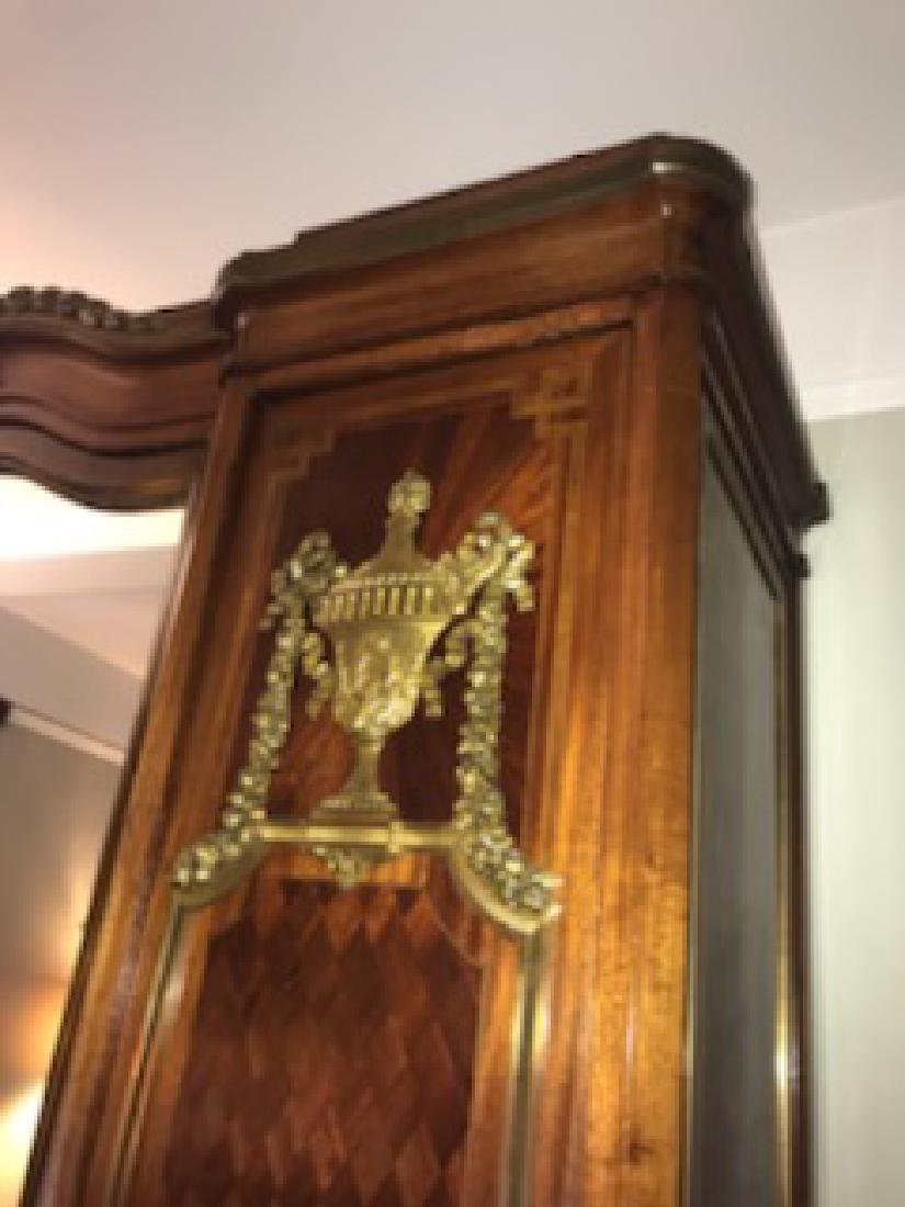 Late 19thc Early 20thc French Armoire - 5