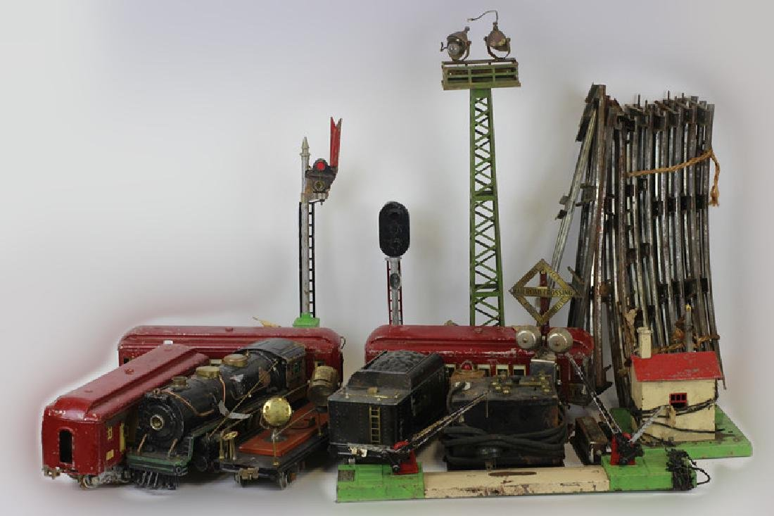 Large Lionel Train Set