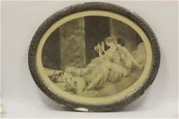 Louis Icart French 18801950 Etching Circa 1925