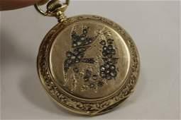 18K Gold & Diamond Longines Pocket Watch