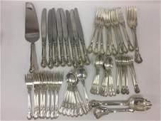 Gorham Sterling Silver Chantilly Flatware Set