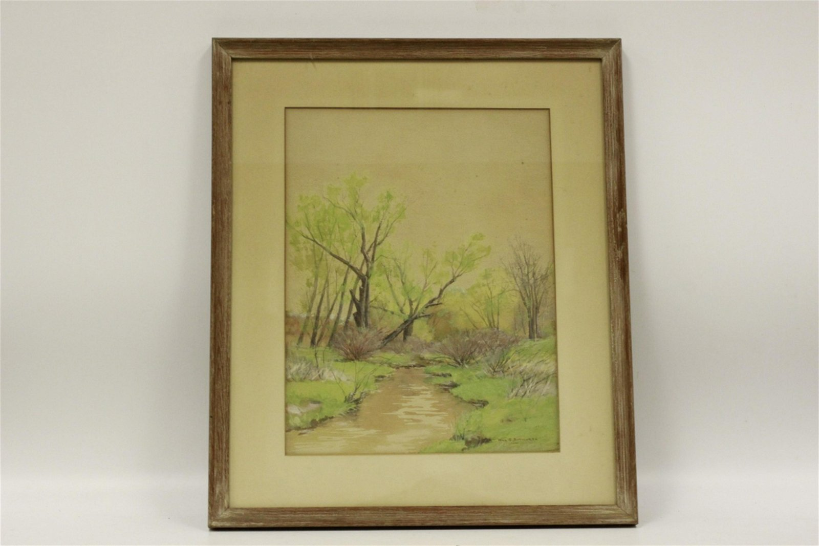 William Budworth, American (1861-1938) Water Color