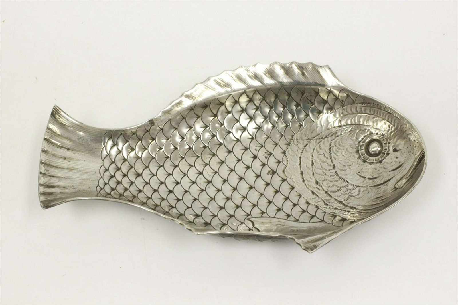 Gorham Unusual & Rare Sterling Silver Fish Platter