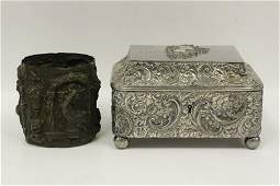 2pc Lot of Silver Plated Items