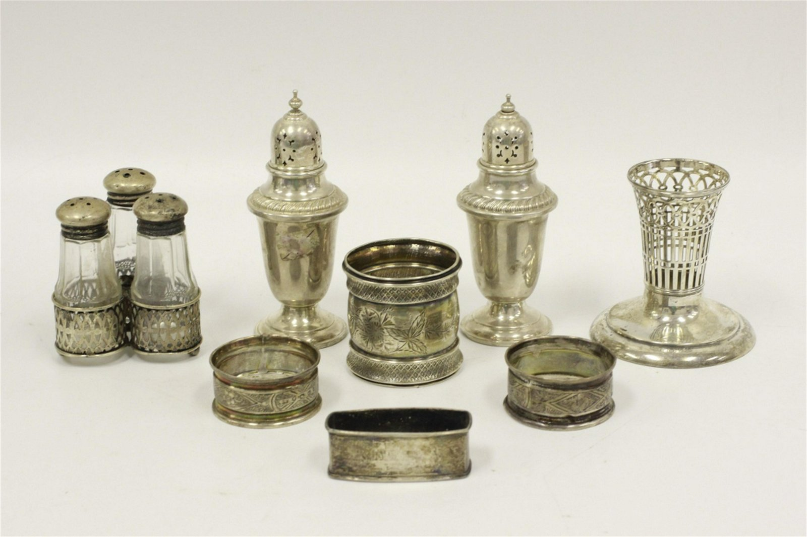 8pc Sterling Silver Lot Including Gorham