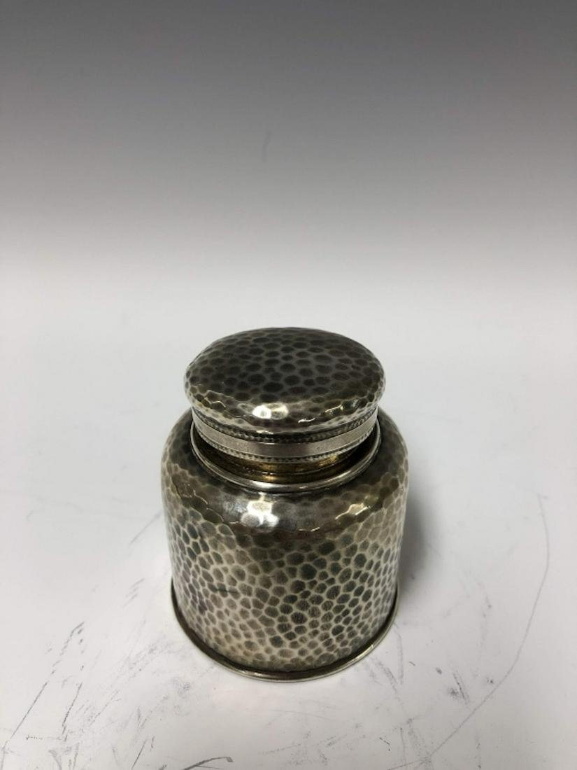 Tiffany & Co Hammered Sterling Silver Inkwell