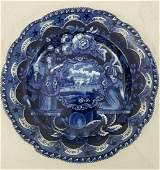 Staffordshire 19C American Independence Plate