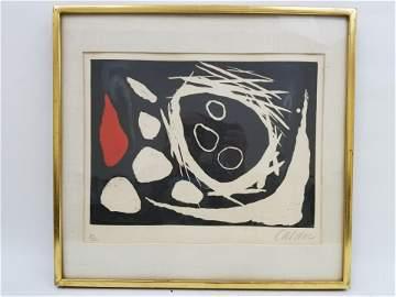 Alexander Calder (1898-1976) Original Etching