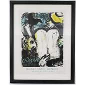 Exhibition Poster Marc Chagall French18871985