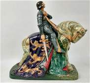 Royal Doulton, England Porcelain Figure St. George