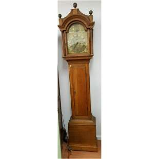 Exceptional Antique 19thC Grandfather Clock.
