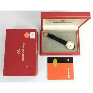 Vintage Movado 14K Gold Mechanical Watch