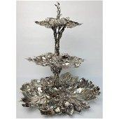 Buccellati Sterling Silver Italian Centerpiece