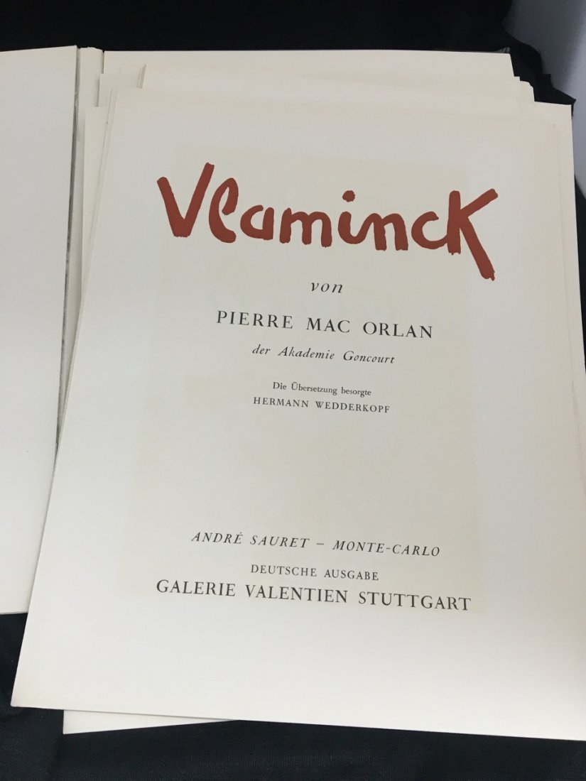 German Vlaminck Art Book - 3