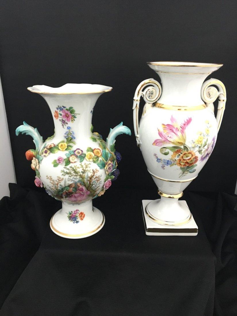 Two Meissen Vases