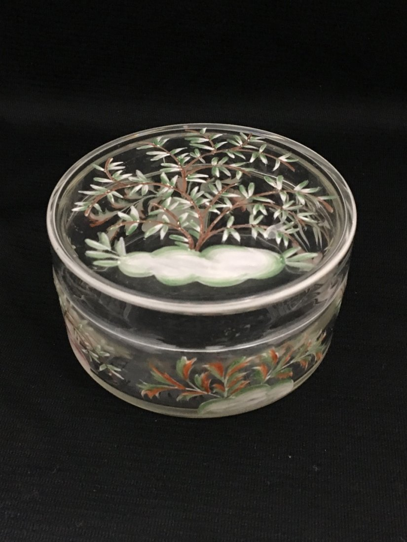 Art Deco Austrian Enameled Covered Box