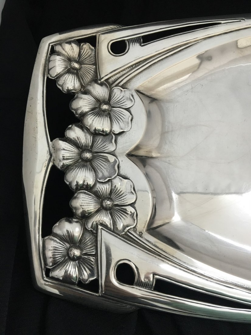 French Large Silver Tray - 2