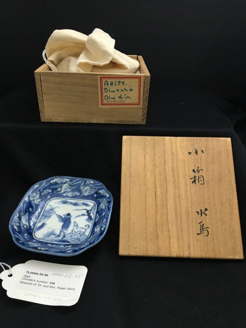 Japanese 19th-Century Hirado Small Saucer