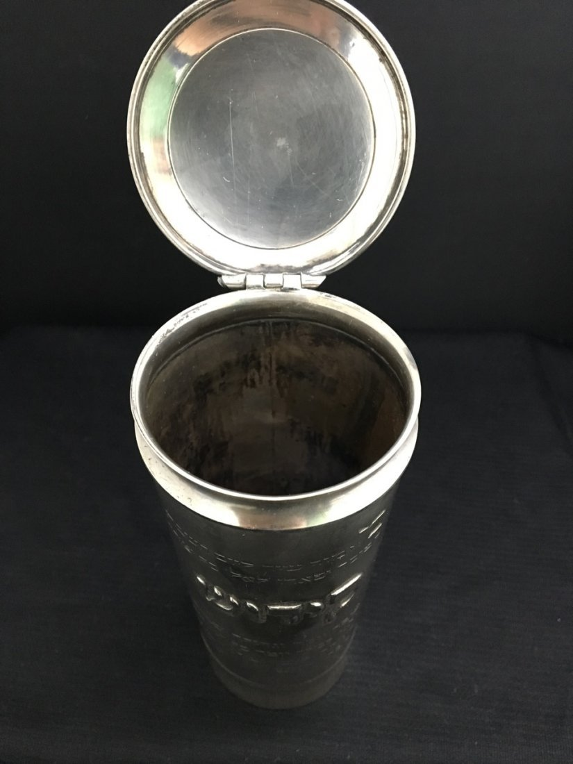 19th-Century Judaica Silver - 2