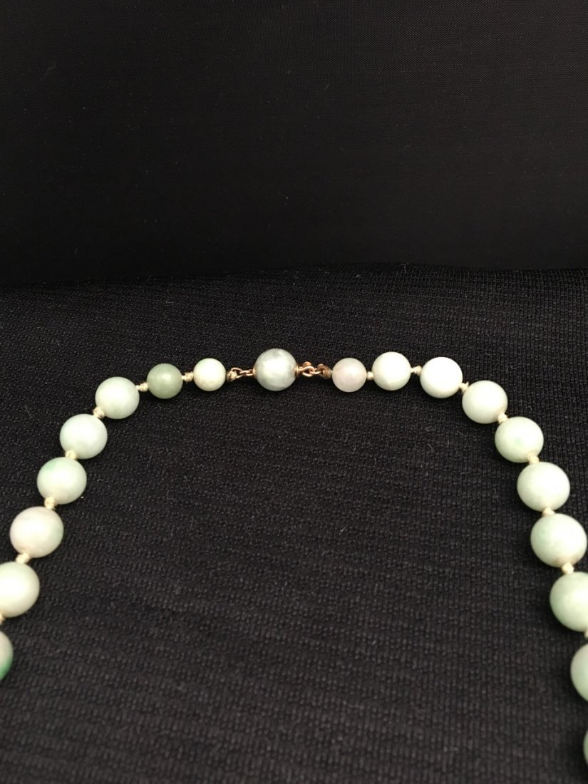 Chinese Jade Necklace - 2