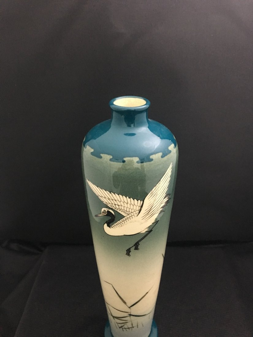 Japanese Late 19th-Century Porcelain Vase - 2