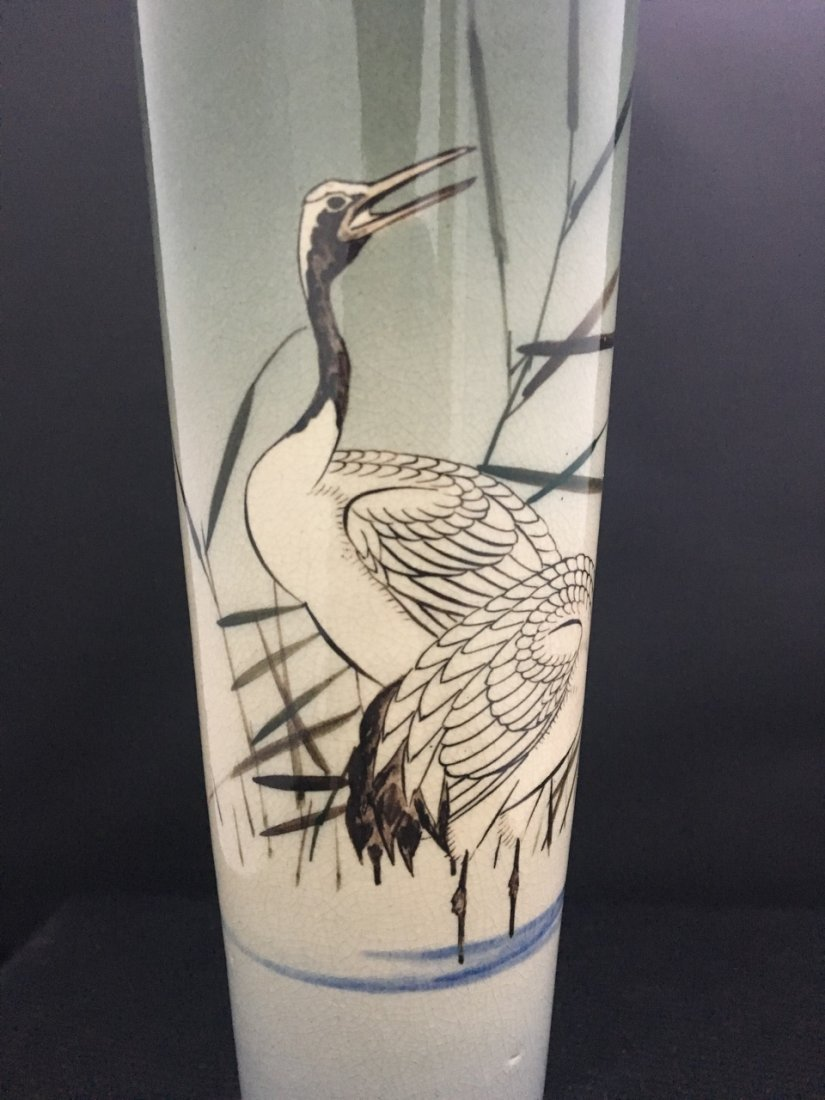 Japanese Late 19th-Century Porcelain Vase - 3