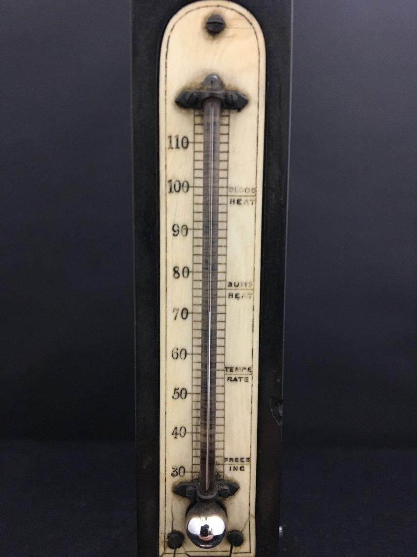 Pietra Dura Inlaid Thermometer - 2