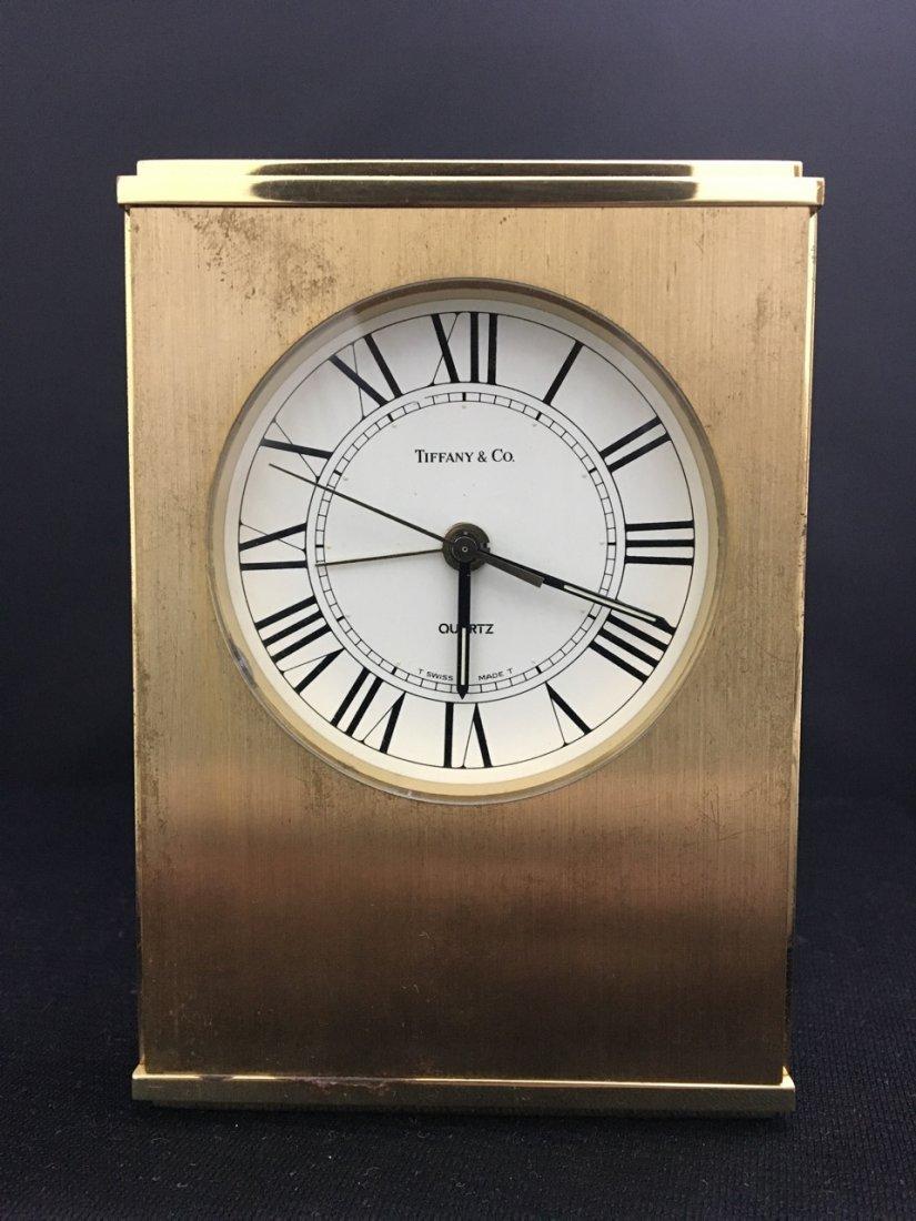 Tiffany and Co. Quartz Clock