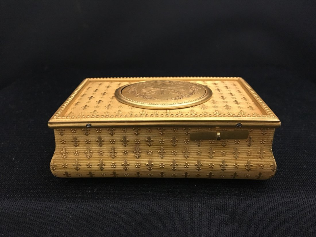 F. Lajoulot Paris No. 881, Rare Singing Bird Box