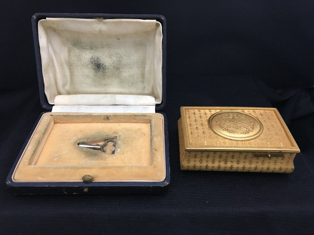 F. Lajoulot Paris No. 881, Rare Singing Bird Box - 4