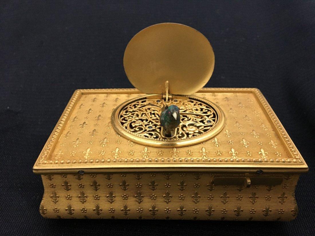 F. Lajoulot Paris No. 881, Rare Singing Bird Box - 5