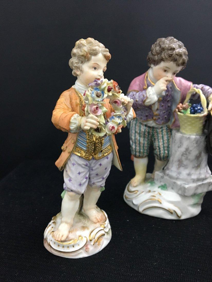 Three Meissen 19th-Century Figures - 2