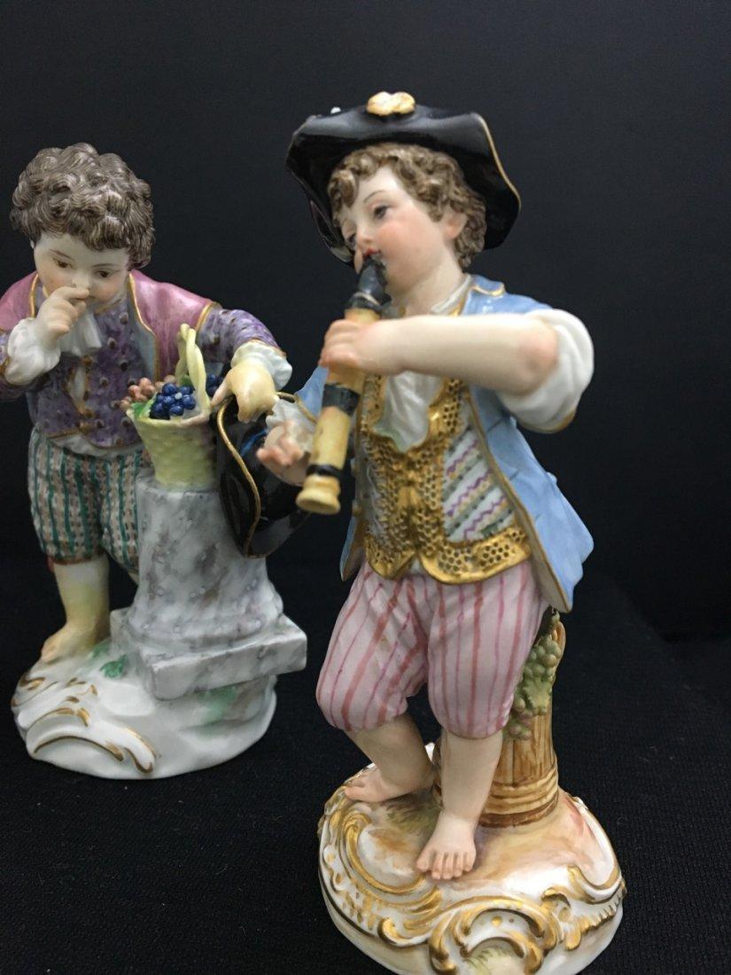 Three Meissen 19th-Century Figures - 3
