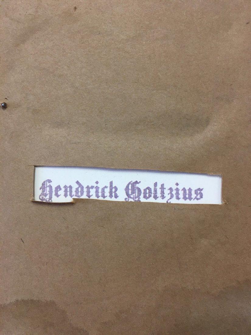 Porcelain Plaque Signed Hendrick Goltzius - 3