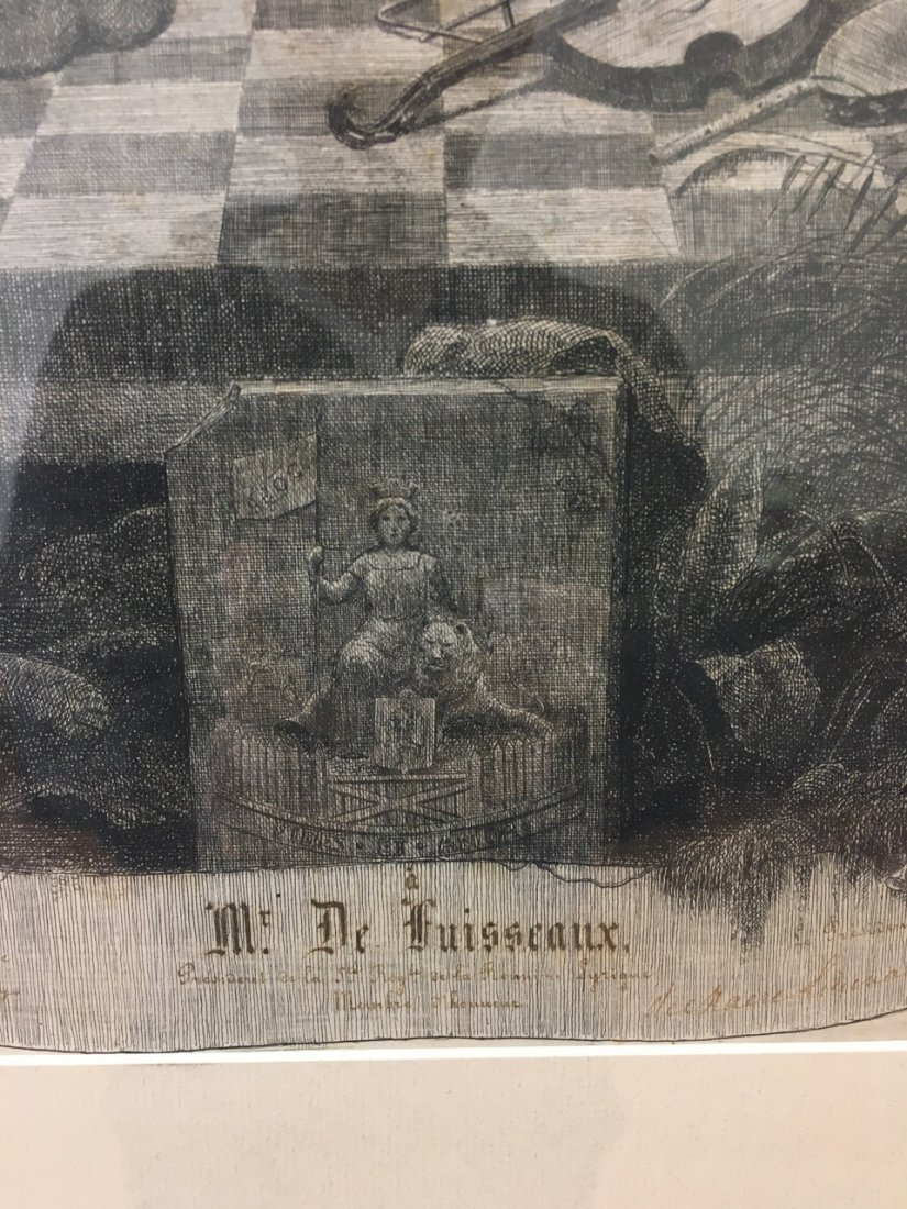 Old Etching - 3