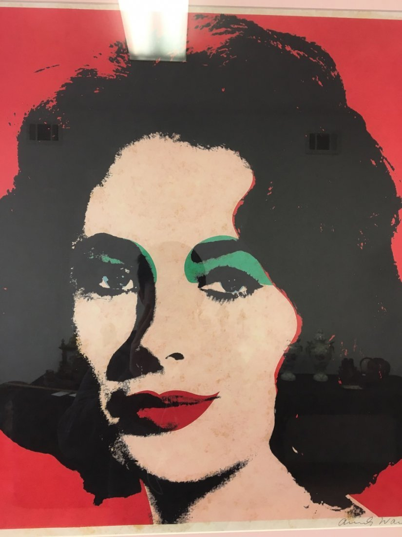 Andy Warhol Attributed Elizabeth Taylor - 2