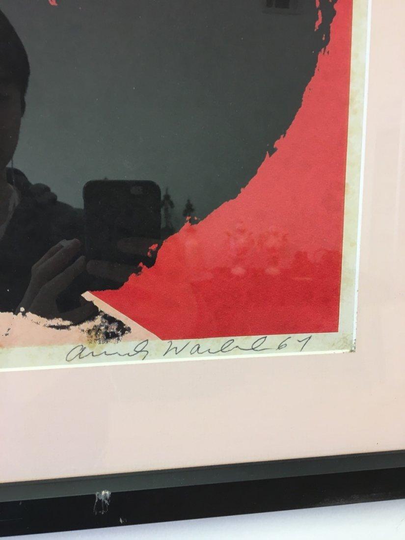 Andy Warhol Attributed Elizabeth Taylor - 3