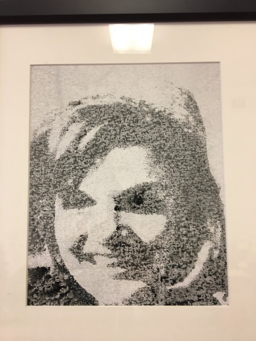 Andy Warhol Attributed Jackie (signed) - 2