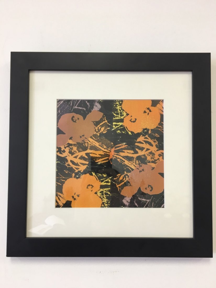 Andy Warhol Attributed Silk Screen
