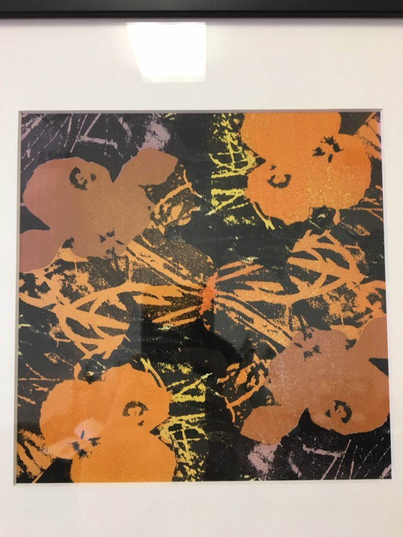 Andy Warhol Attributed Silk Screen - 2