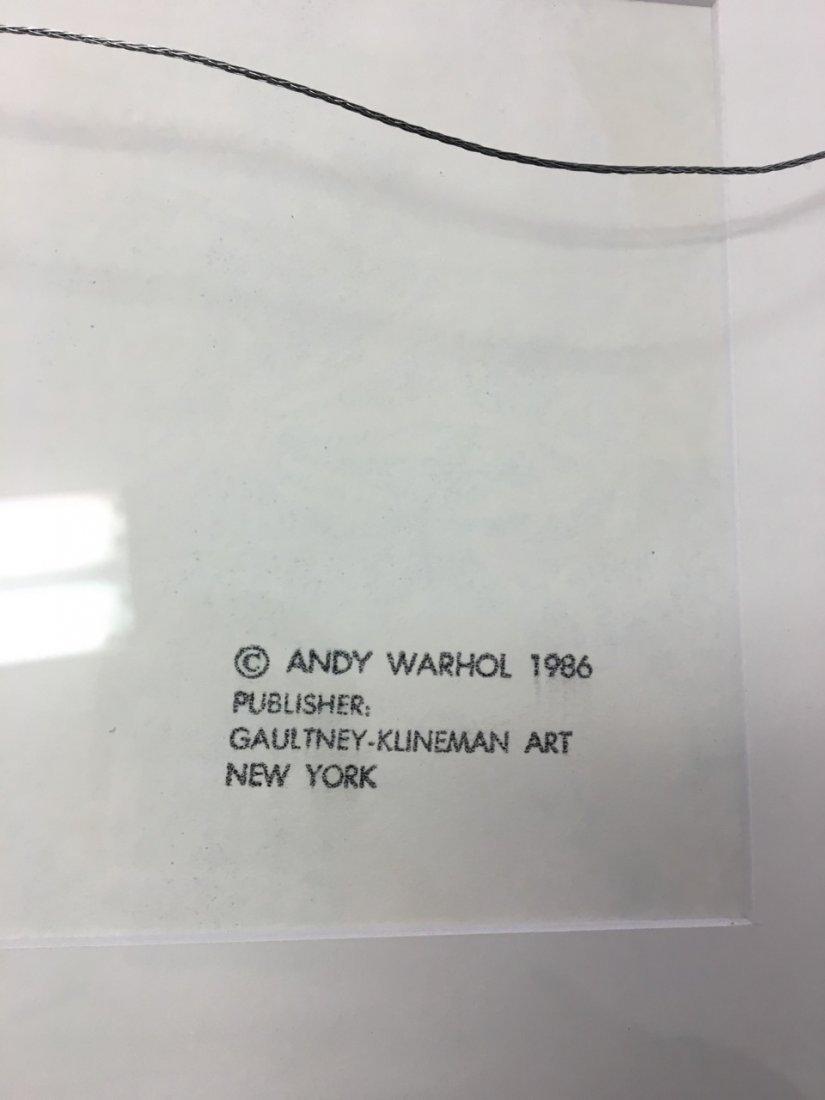 Andy Warhol Attributed Silk Screen - 3