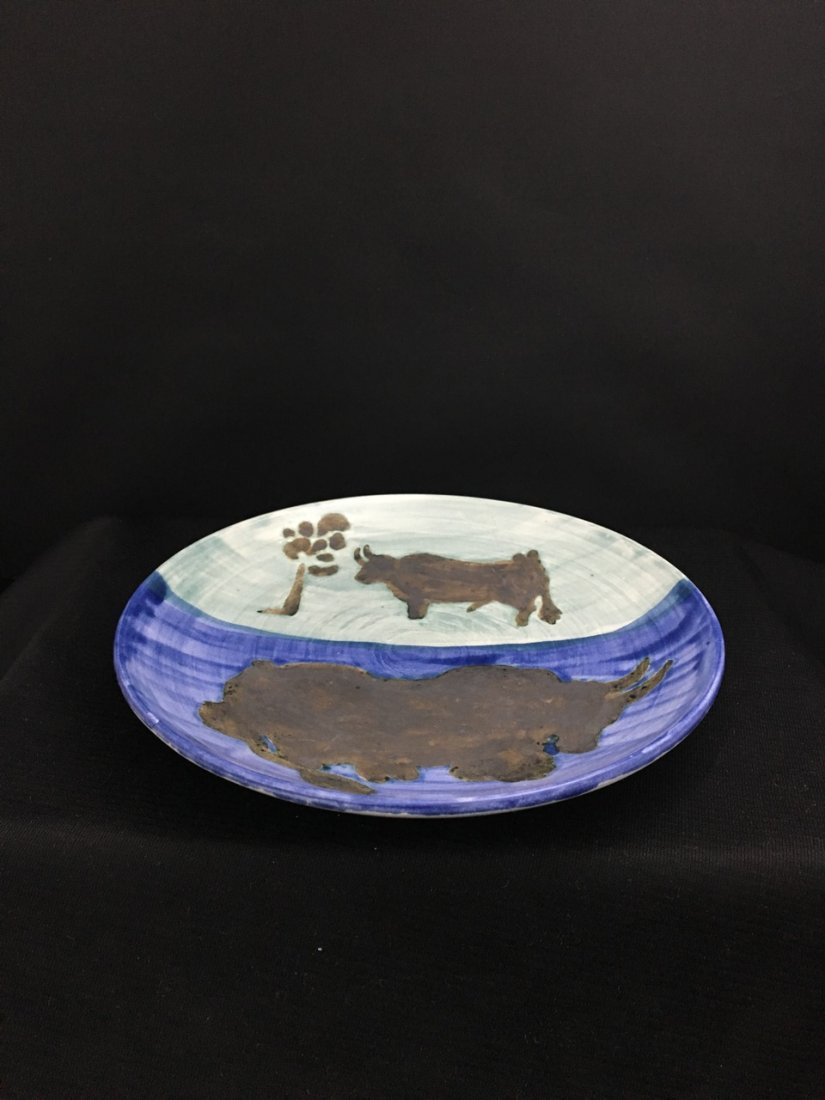 Picasso Pottery Plate