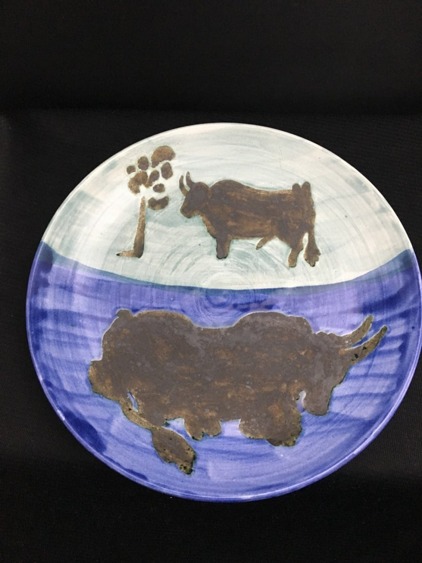 Picasso Pottery Plate - 2