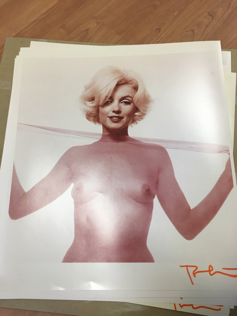 Marilyn Monroe Portfolio of 10 Photographs, Bert Stern - 4